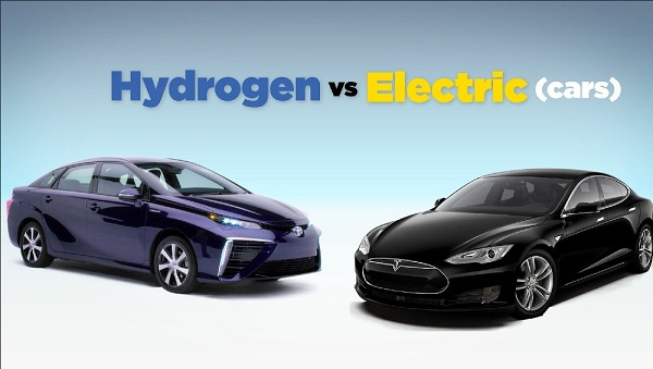 Electric Cars vs Hydrogen Fuel Cell Cars